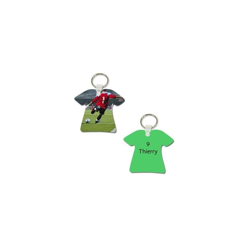 Porte cl tee shirt photo recto verso - Porte clef personnalise photo recto verso ...