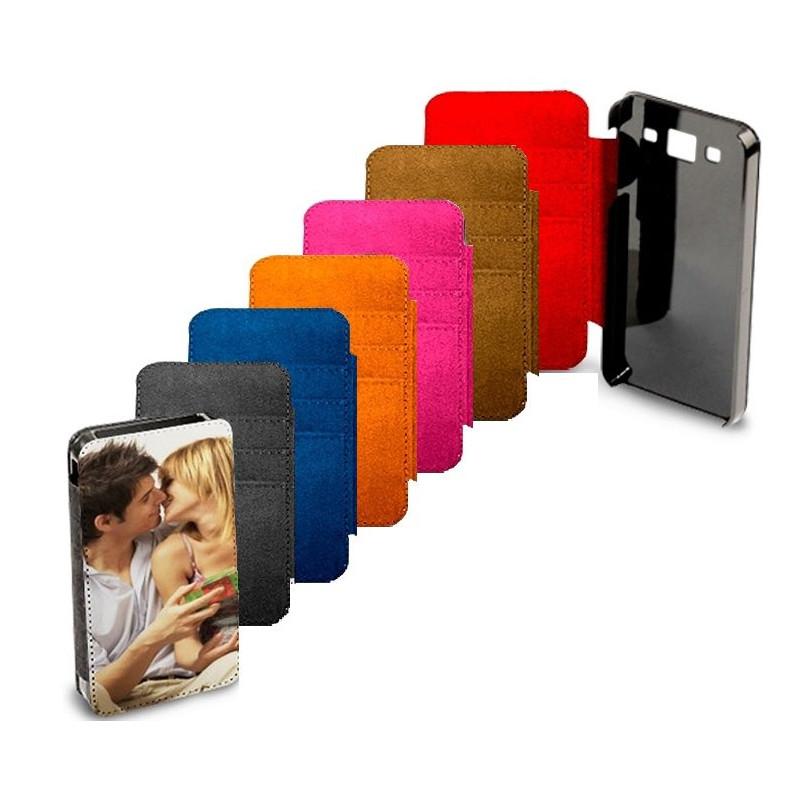 Etui portefeuille Iphone 5 personnalisé