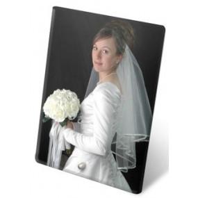 Cadre portrait verre photo