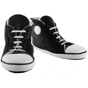 Chaussons baseball noirs