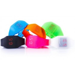 Montre pop silicone