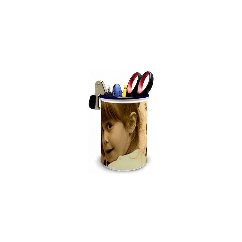 Pot à crayons avec photo