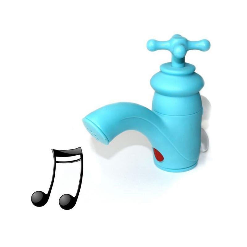 Radio étanche en forme de robinet