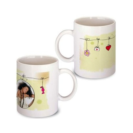 Mug motif photo suspendue