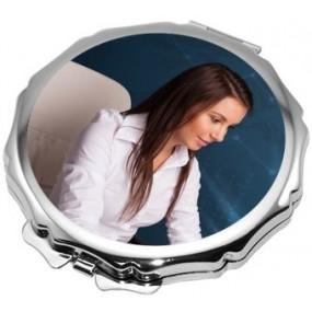 Miroir bords originaux avec photo