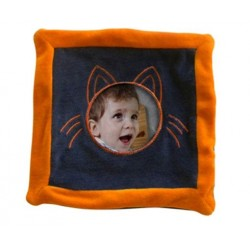 Doudou chat orange photo