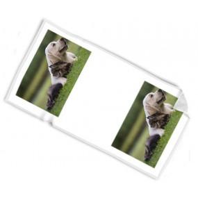 Serviette 70x140cm personnalisé avec 2 photos