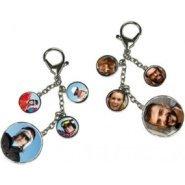Porte clé original avec 8 photos
