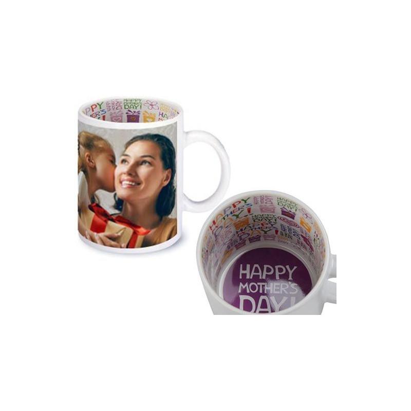 Mug personnalisé photo fête des mères