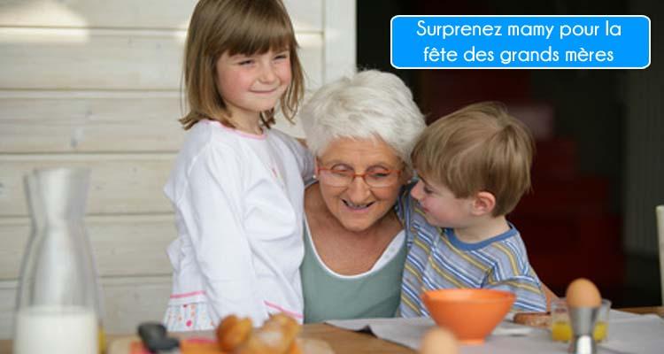 Cadeau fête des grands mères