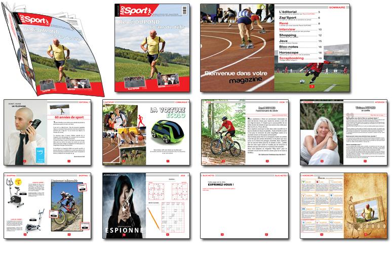 magazine sur mesure sport