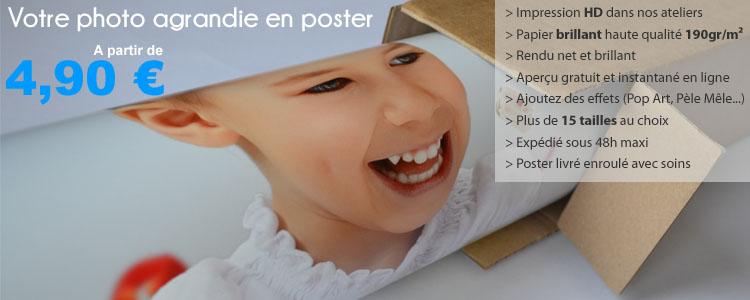 poster personnalisé photo hd