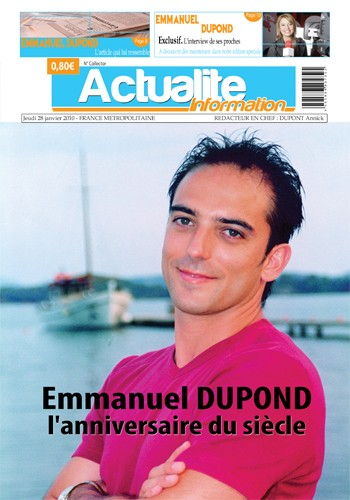 Exemple faux mag actu page 1